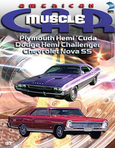 American Muscle Car - Plymouth Hemi Cuda/dodge Hemi Challener/1968 Chevrolet No