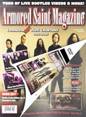 Armored Saint - Magazine: Lessons Not Well Learned 1991-2001