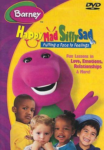 Barney - Happy , Angry, Silly, Sad