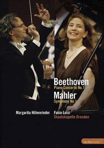 Beethoven - Piano Concerto No. 1/mahler - Symphony No. 1
