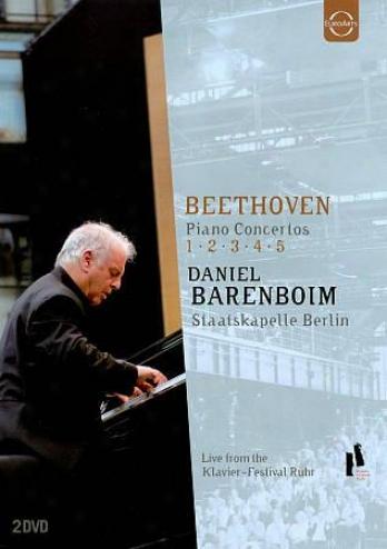 Beethoven - Piano Concertos No 1 - 5 / Daniel Brenboim