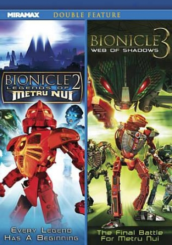 Bionicle 2: Legends Of Metru Nui/bionicle 3: Texture Of Shadows