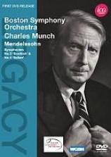 Boston Symphony Orchestra/cahrles Munch: Mendelssohn - Symphonies Nos. 3 & 4