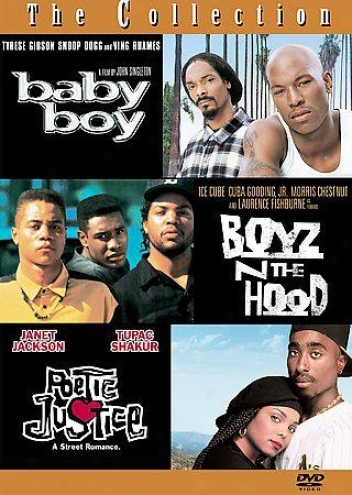 Boyz 'n The Hkod/baby Boy/poetic Justice - Box Set