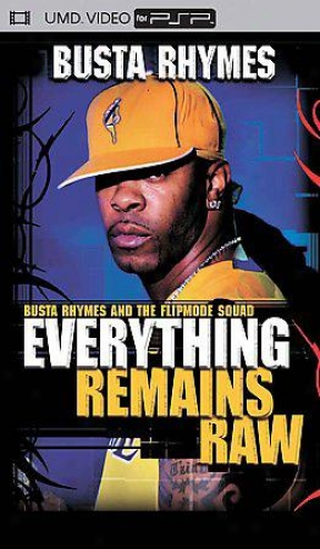 Busta Rhymes - Everything Remains Raw: Live In Concert (psp Movie)