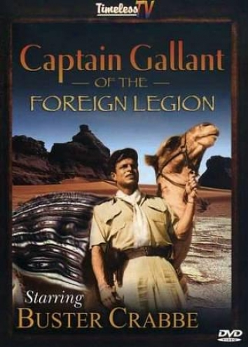Captain Gallant Of The Foreign Legion 2dvd