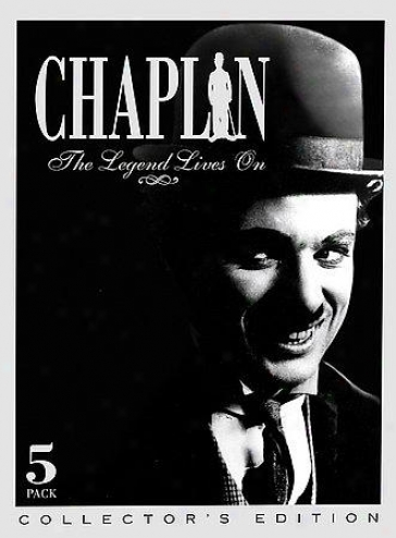 Chaplin:the Legend Lives On - 5 Disc Set