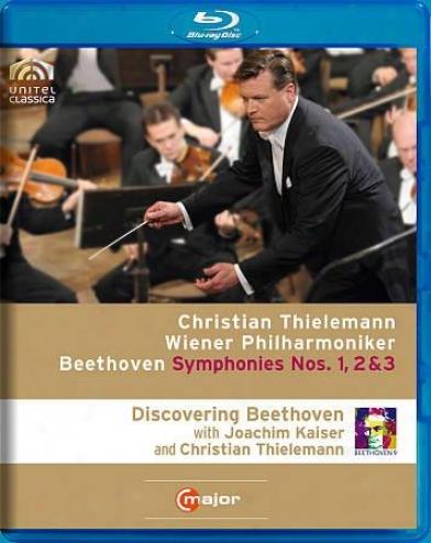 Christian Thielemann/wiener Philharmoniker: Beethovne - Symphonies Nos. 1, 2 & 3