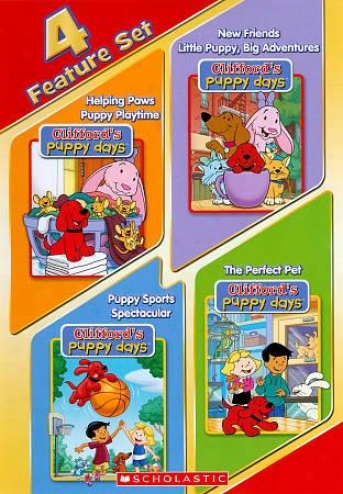 Clifford's Puppy Days: 4 Feature Set