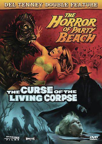 Del Tenney Double Feature: Horror At Party Beach/curse Of The Livelihood Corpse