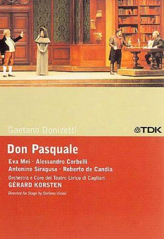 Donizetti: Don Pasquale / Korsten, Corbelli, Mei