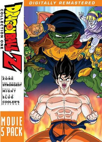 Dragonballl Z: Movie 4 Pack - Collection One