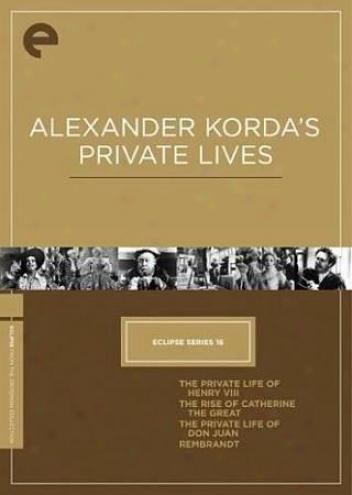 Eclipse Series 16: Alexander Korda's Private Lives