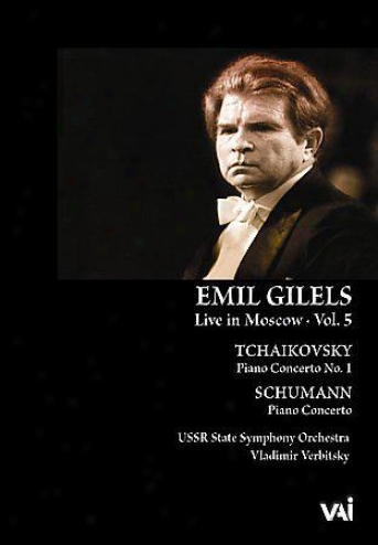 Emil Gilels - Livee In Moscow Vol. 5