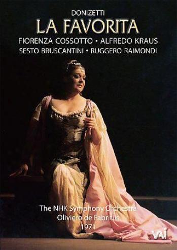 Gaetano Donizetti - La Favoriya / Fabritiis, Cossotto, Kraus