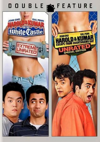 Harold & Kumar Go To White Cawtleg/uantamo Bay: Double Feature