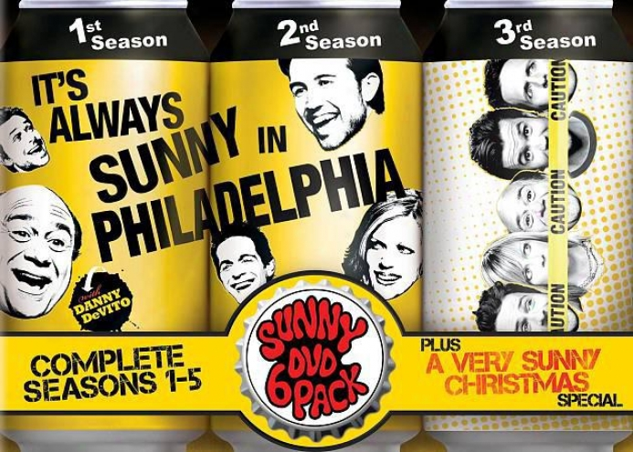 It's Always Sunny In Philadelphia: Complete Seasons 1-5 Plus A Very Sunny Christ