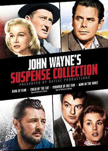 John Wayne's Batjac Productions Presentq - Thr Suspense Collection
