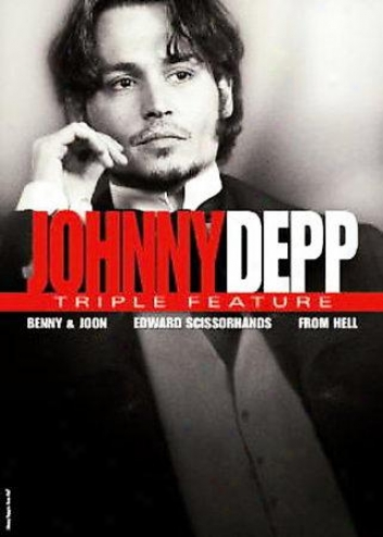 Johnny Depp - Triple Feature