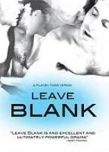 Leave Blank