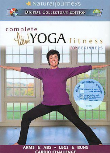 Lilias! Complete Yoga Fitness For Beginners - 2-volume Box Set