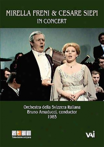 Live In Concert - Mirella Freni & Cesare Siepi