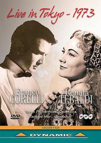 Live In Tokyo 1973 - Franco Corelli & Renata Tebaldi