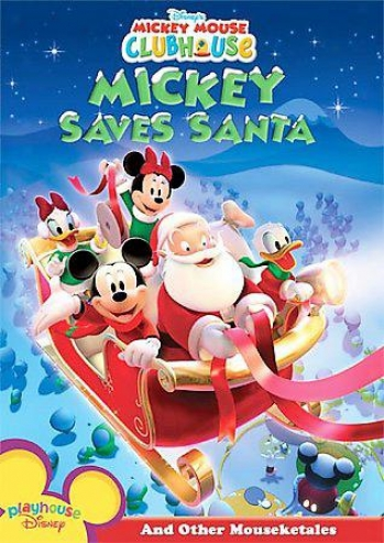 Mickey Peer Clubhouse - Mickey Saves Santa And Other Mouseketales