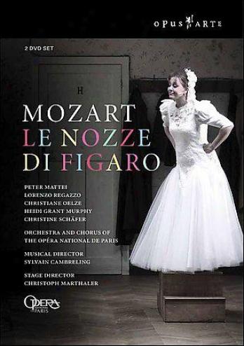 Mozart - Le Nozze Di Figaro / Cambreling, Marthaler