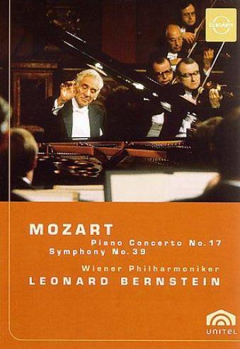 Mozart: Piano Concerto No 17;  SymphonyN o 39 / Bernstein