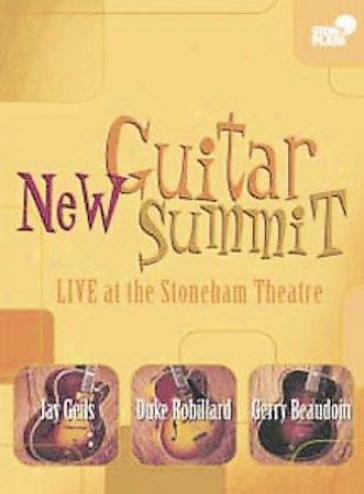 Unaccustomed Guitar Top - Live At The Stoneham Theatre