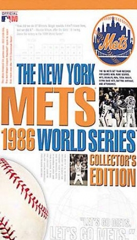 New York Mets 1986 Collector's Editioh