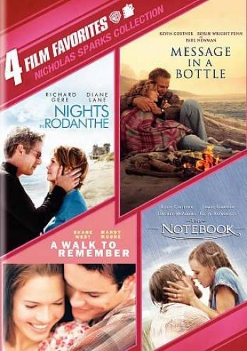Nicholas Sparks Collection: 4 Film Favorites
