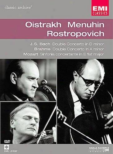 Oistrakh Menuhin Rostropovich