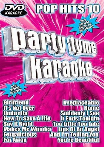 Party Tyme Karaoke - Dvd Pop Hits 10