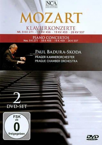 Paul Bad8ra-skoda: Piano Concertos Nos. 9, 18, 19, 26