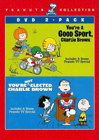 Peanuts Collection: You're A Good Sport, Charlie Brown/you're Not Elected, Charl
