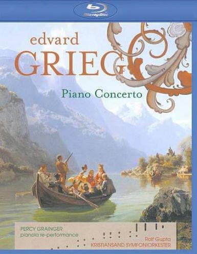 Percy Granger/kristiansand Symfoniorkester: Grieg - Piano Concerto