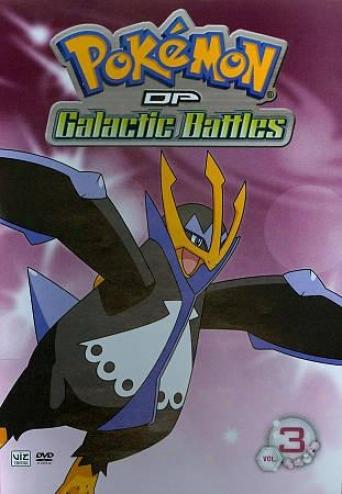 Pokemon Dp Ga1actic Battles, Vol. 3
