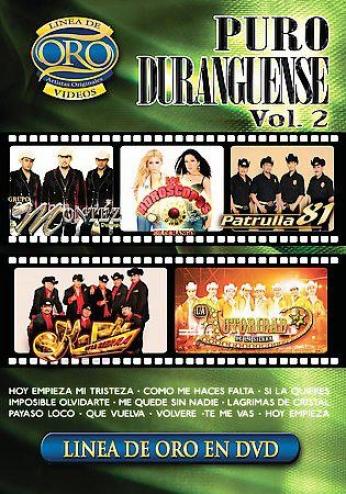 Puro Duranguense Vol. 2 - Lenea De Oro En Dvd