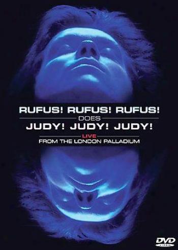 Rufus Wainwright - Rufus! Rufus! Rufus! Does Judy! Judy! Judy! Live At The Londo