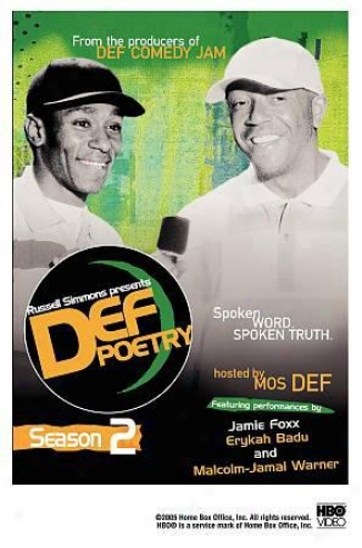 Russell Simmons Presents Def Poetry Jam: Season 2