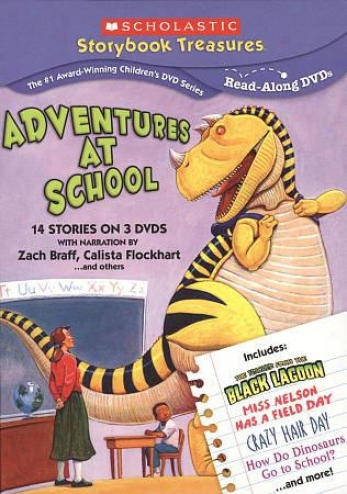 Scholastic: Adventures At Scnool 3 Pack