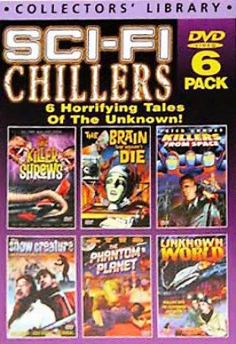 Sci-fi Chillers - 6 Dvd Set