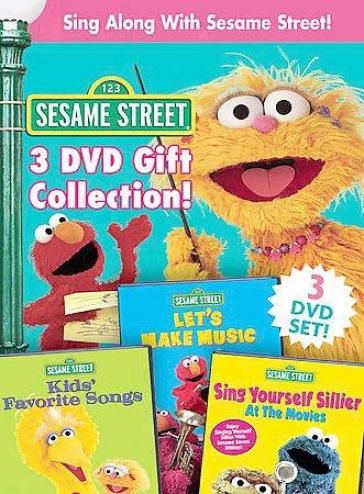 Sesame Strset - Sing Along With Sesame Street 3-pack