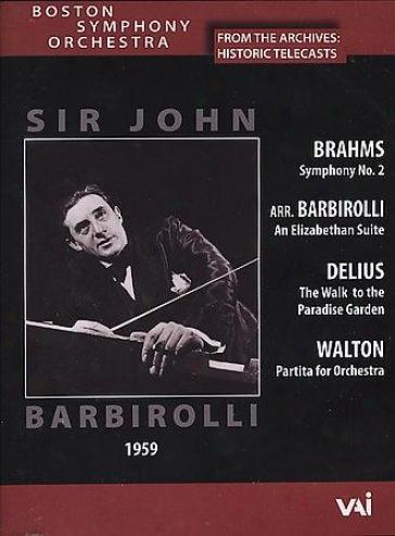 Sir John Barbirolli/boston Syphony Orchestra
