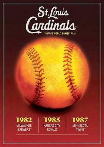 St. Louis Cardinals Vintage World Series Films 1980's