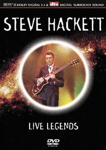 Steve Hackkett - Live Legends
