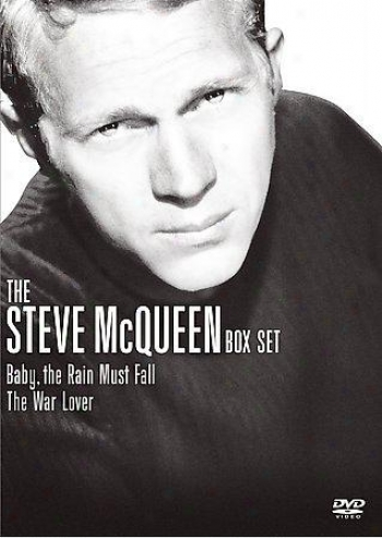 Steve Mcqueen Box Set - Baby, The Rain Must Fall/tue Make ~ Lover