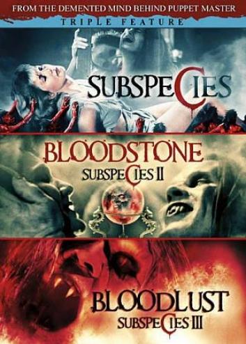 Subspecies/bloodstone: Subspecies Ii/bloodlust Subspecies Iii